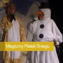 magiczny platek śniegu